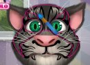 Hrát hru online a zdarma: Talking tom face tattoo